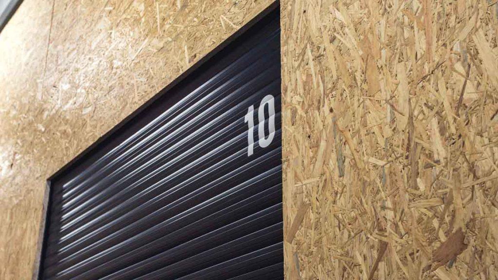 Nummering opslagbox